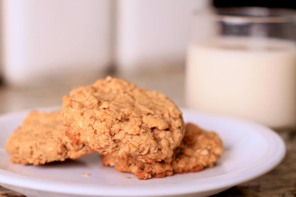 Galletas de mantequilla de cacahuete: sanas y ligeras