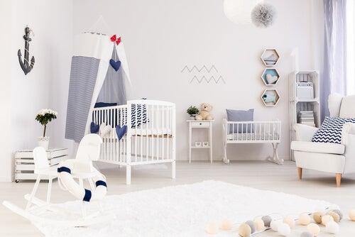 Habitación para bebé recién nacido