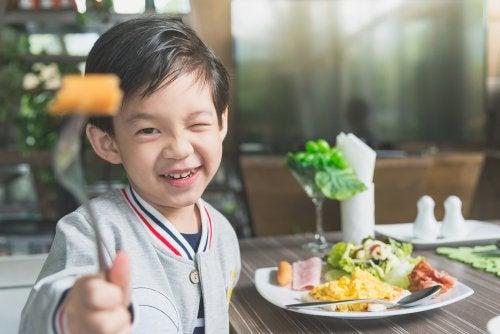 A mi hijo no le gusta comer: qué hacer