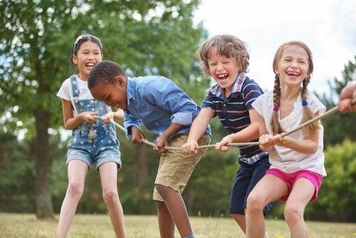 Saturación de los niños con las actividades