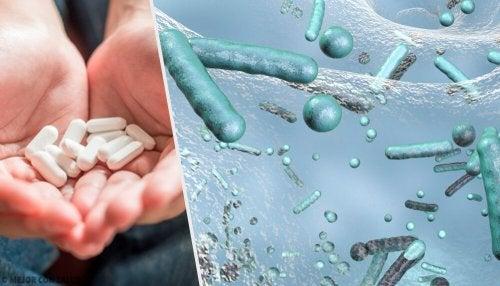 Formación de cepas resistentes a antibióticos