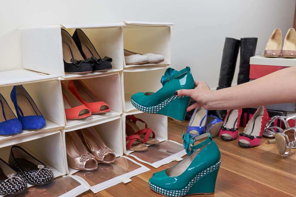 stands de zapatos