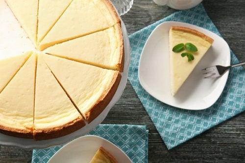 Cheesecake sin azúcar, una receta muy saludable