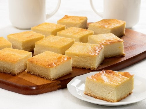 Tarta de queso ricota o requesón.