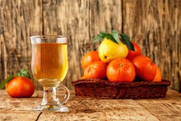 Té de cáscara de mandarina: ¿un remedio para dormir en 5 minutos?