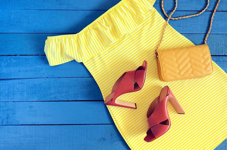 Vestido amarillo para el verano