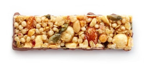 Barritas de cereal veganas para calmar tus antojos
