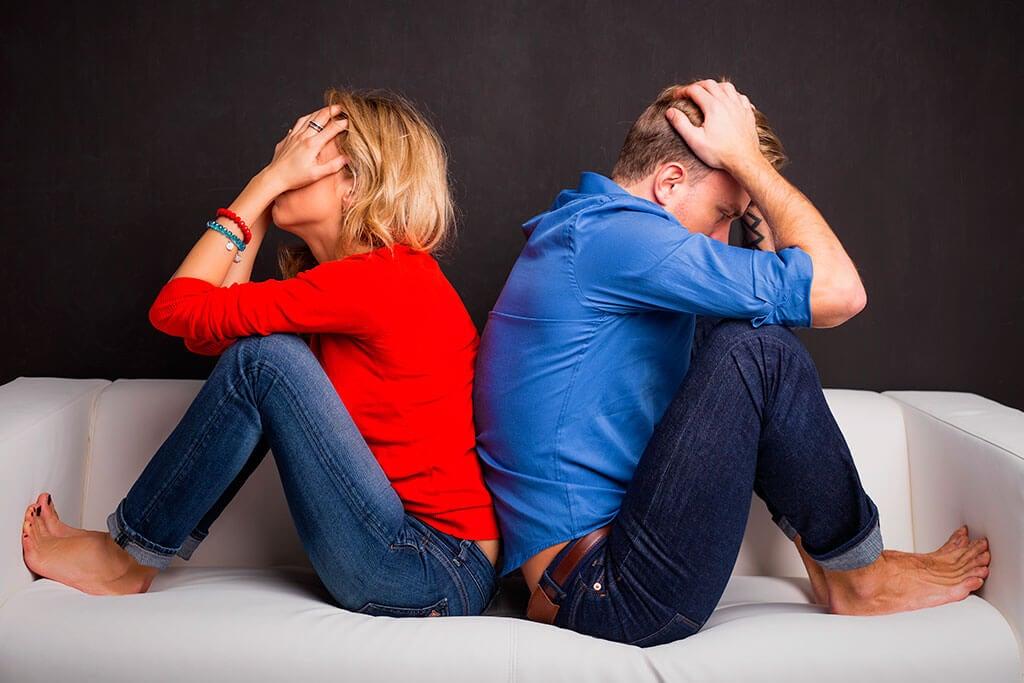 Dónde se encuentran los principales problemas de cada pareja