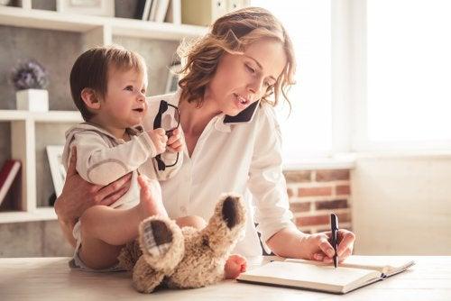 6 tips para combinar el trabajo con la maternidad