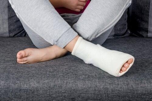 Las 7 fracturas más frecuentes en las personas