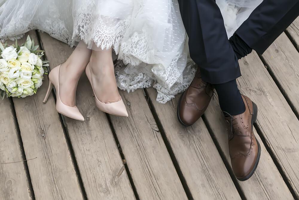 Matrimonio recién casados.