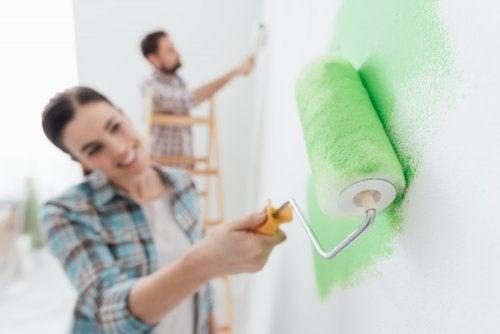 Errores que debes evitar si vas a pintar tu casa