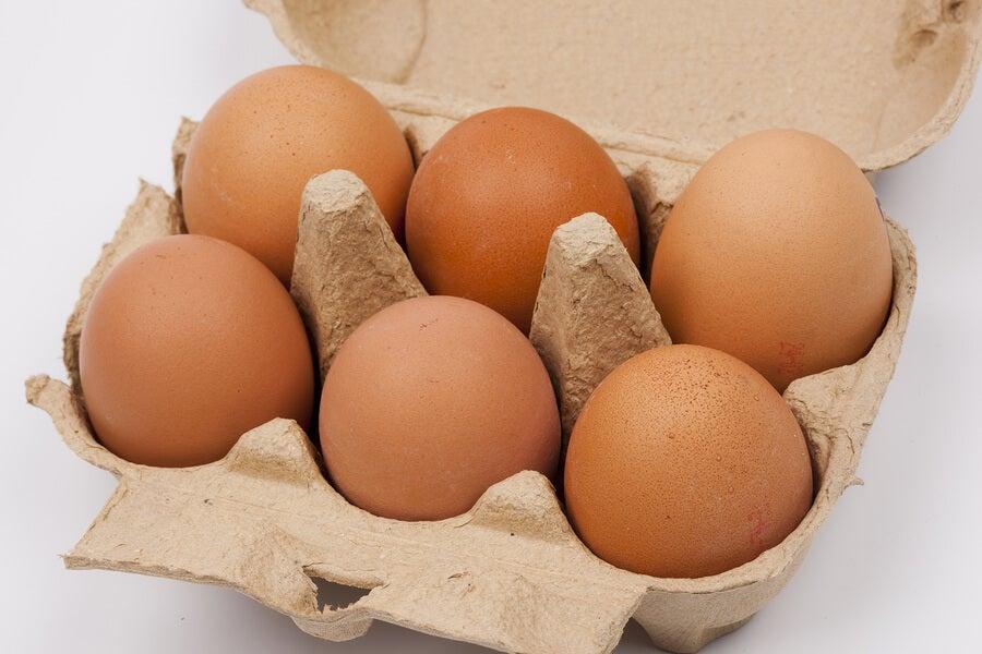 consumo diario de huevos