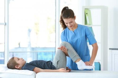 Fisioterapia infantil y sus ventajas