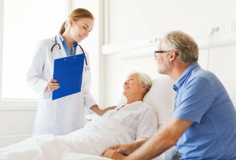 Toracostomía con tubo: preparación del paciente