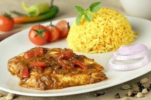 El curry, una especia aliada en la cocina