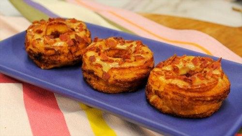 Deliciosas rosquillas de queso