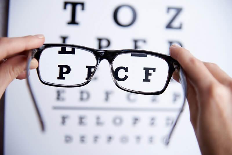 Tabla optométrica.