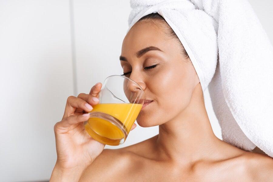 Relación entre una dieta sana y el cuidado de la piel