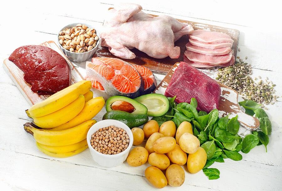 Alimentos saludables,