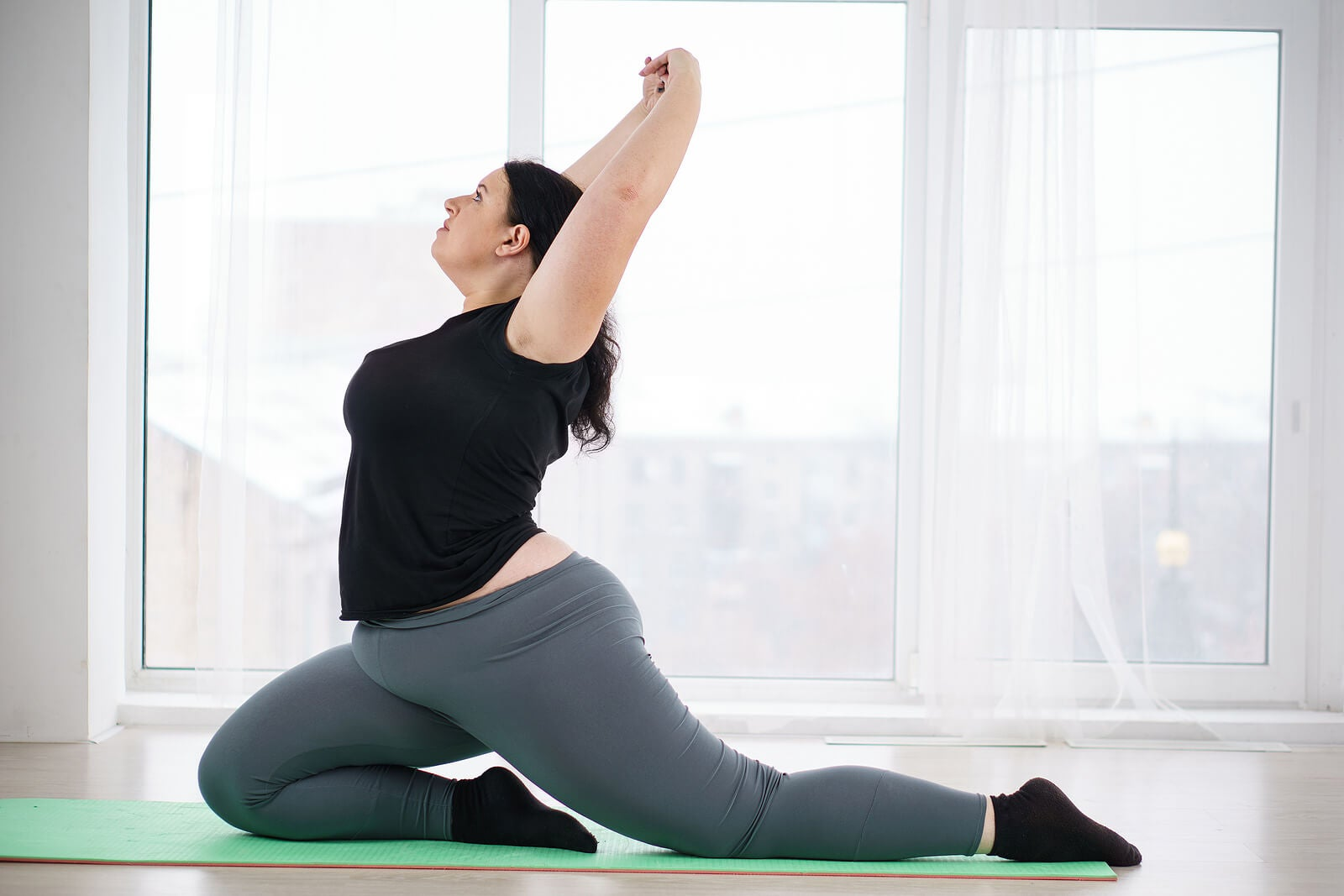Yoga para combatir la obesidad