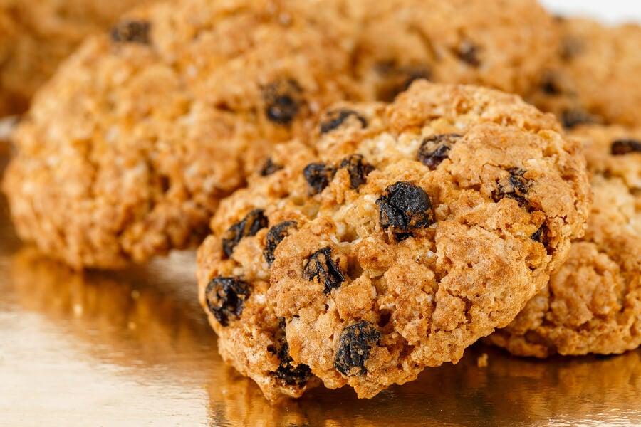 receta de galletas caseras con uva