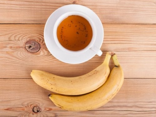 Infusión de plátano