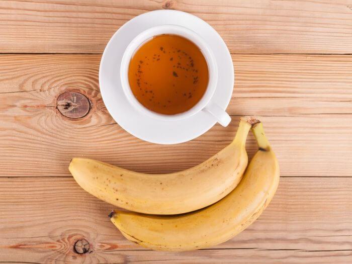 Infusión hojas de plátano