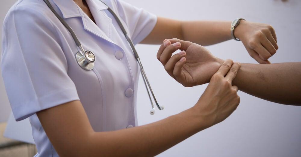 Auscultación de las venas y las arterias