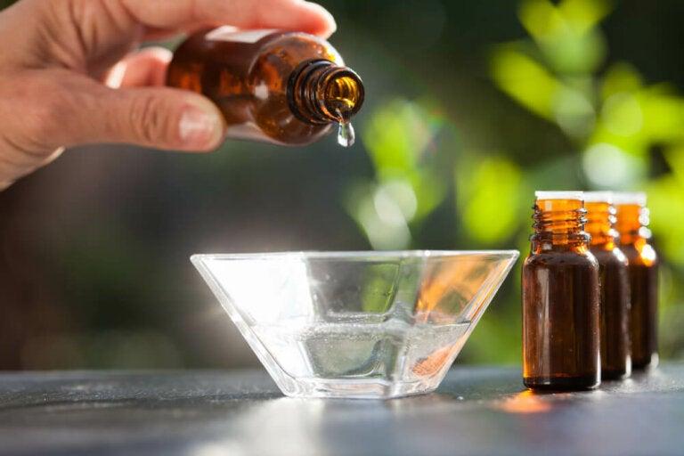 Remedio para la psoriasis a base de aceites esenciales