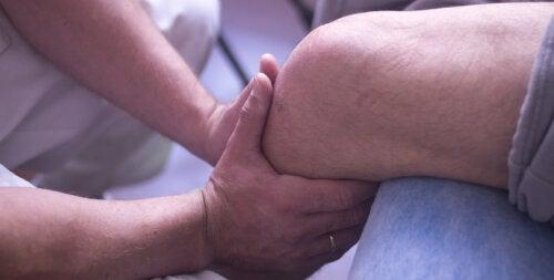 Rehabilitación de la rodilla tras una operación de menisco