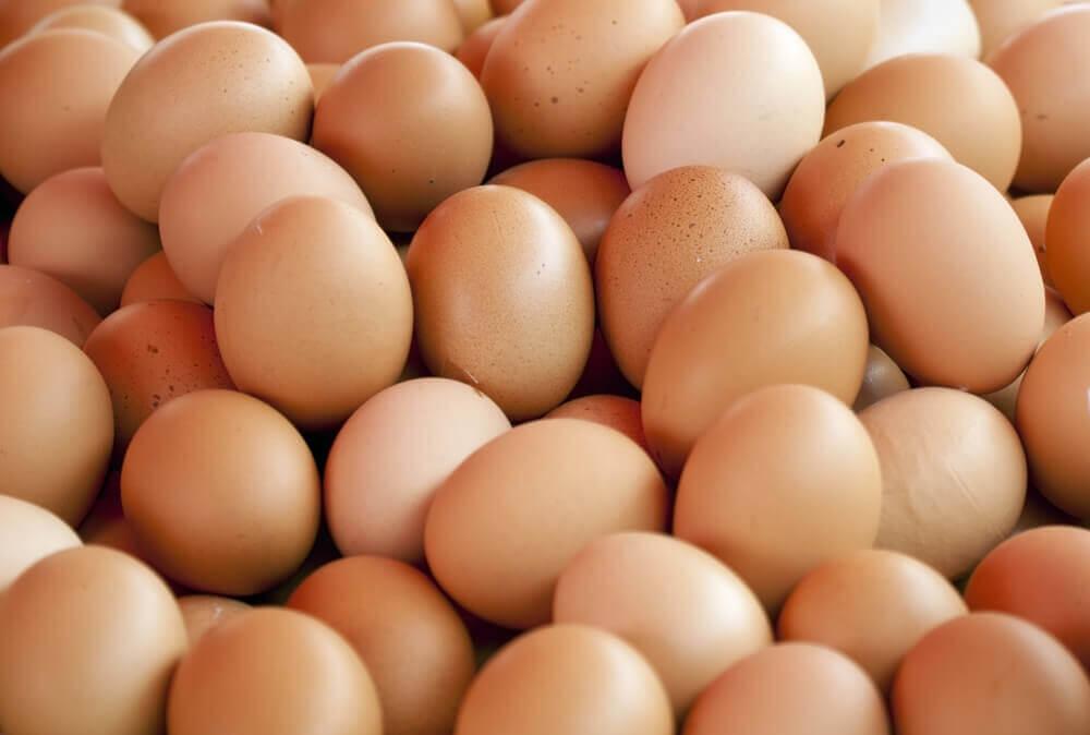 Los huevos son fuentes de biotina.