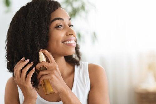 Aceites vegetales para hidratar nuestro cabello