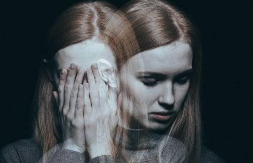 Mujer con depresión y la anorgasmia