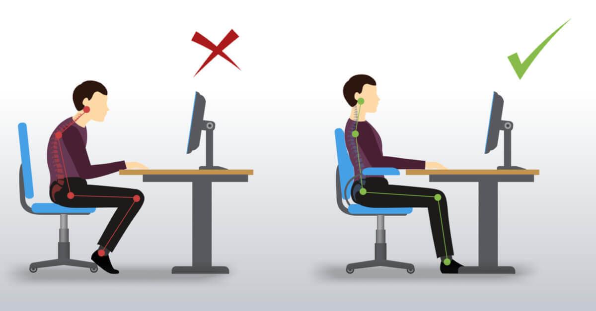 La salud de la espalda depende mucho de nuestro trabajo