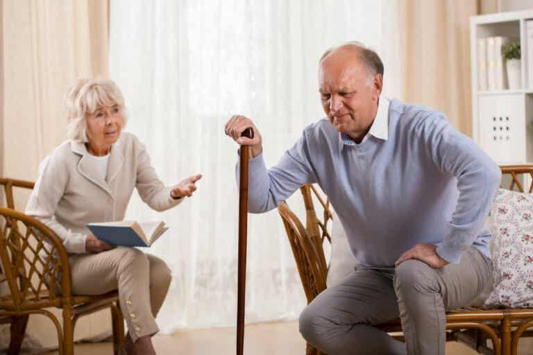 Síndrome post caída en adultos mayores