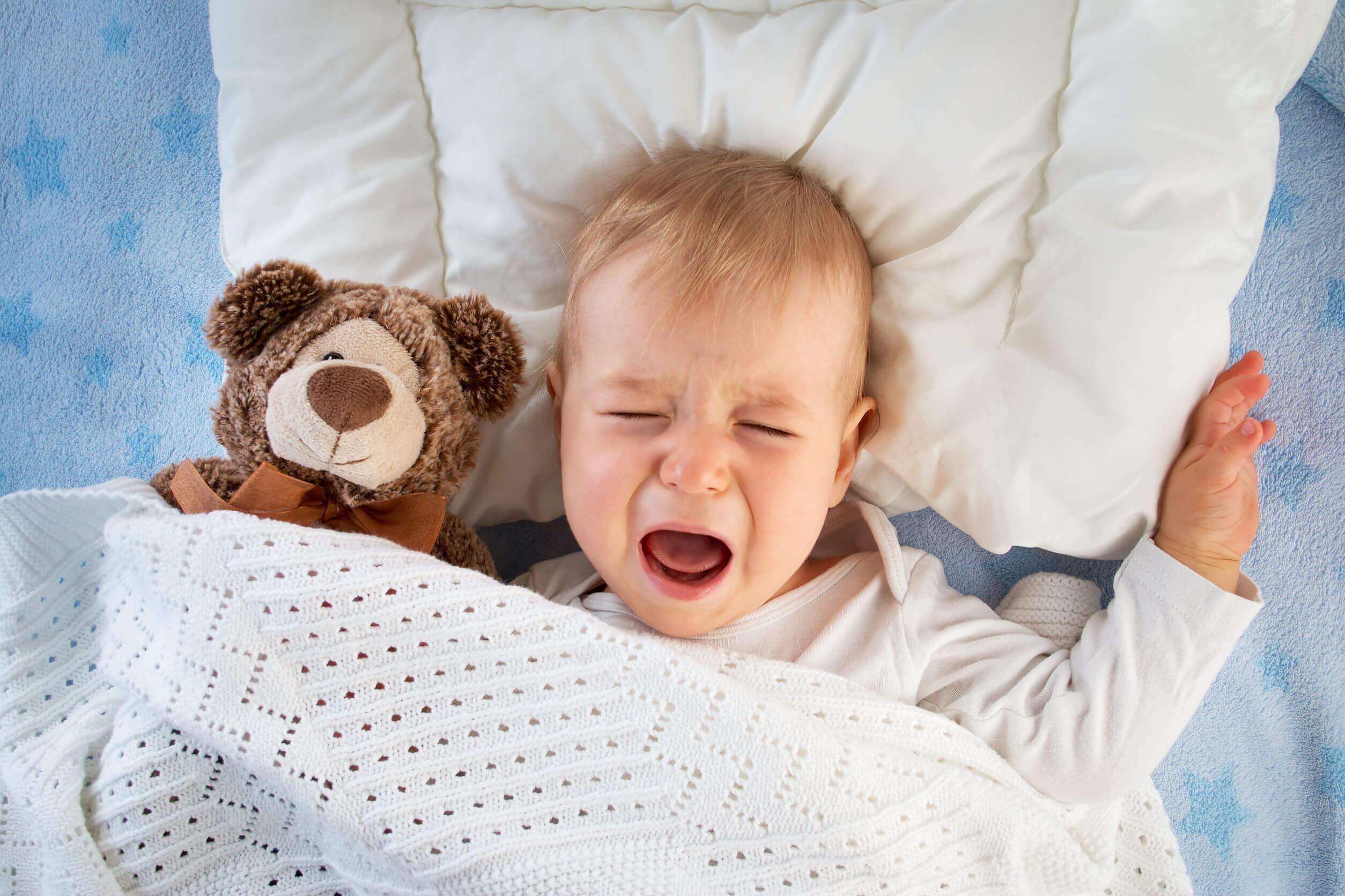 Si el bebé llora después de alimentarse puede deberse a problemas en la alimentación o la lactancia.