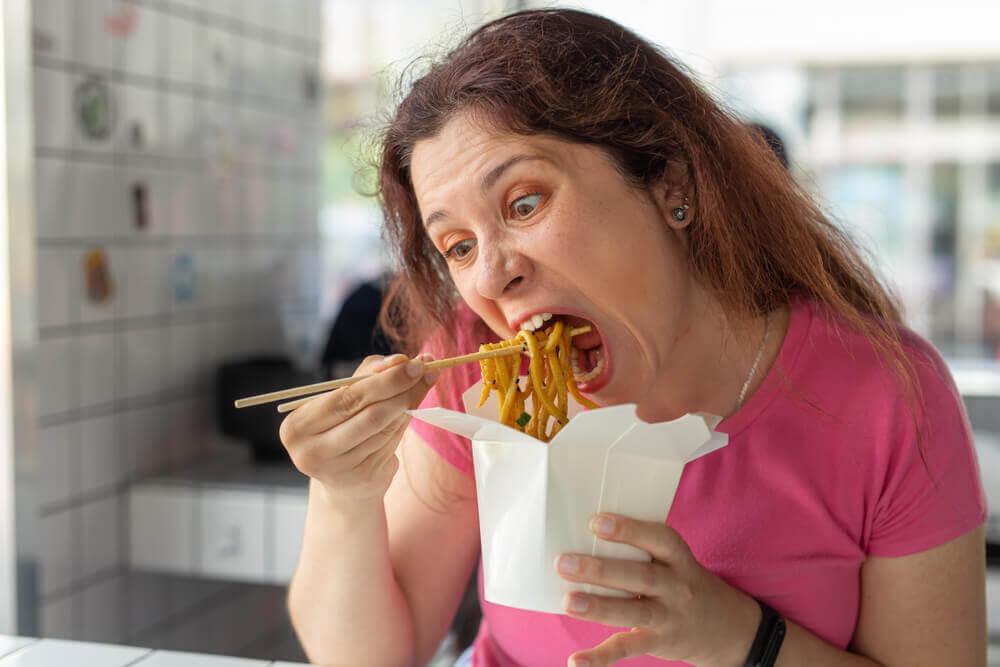 No es bueno comer mucha cantidad.