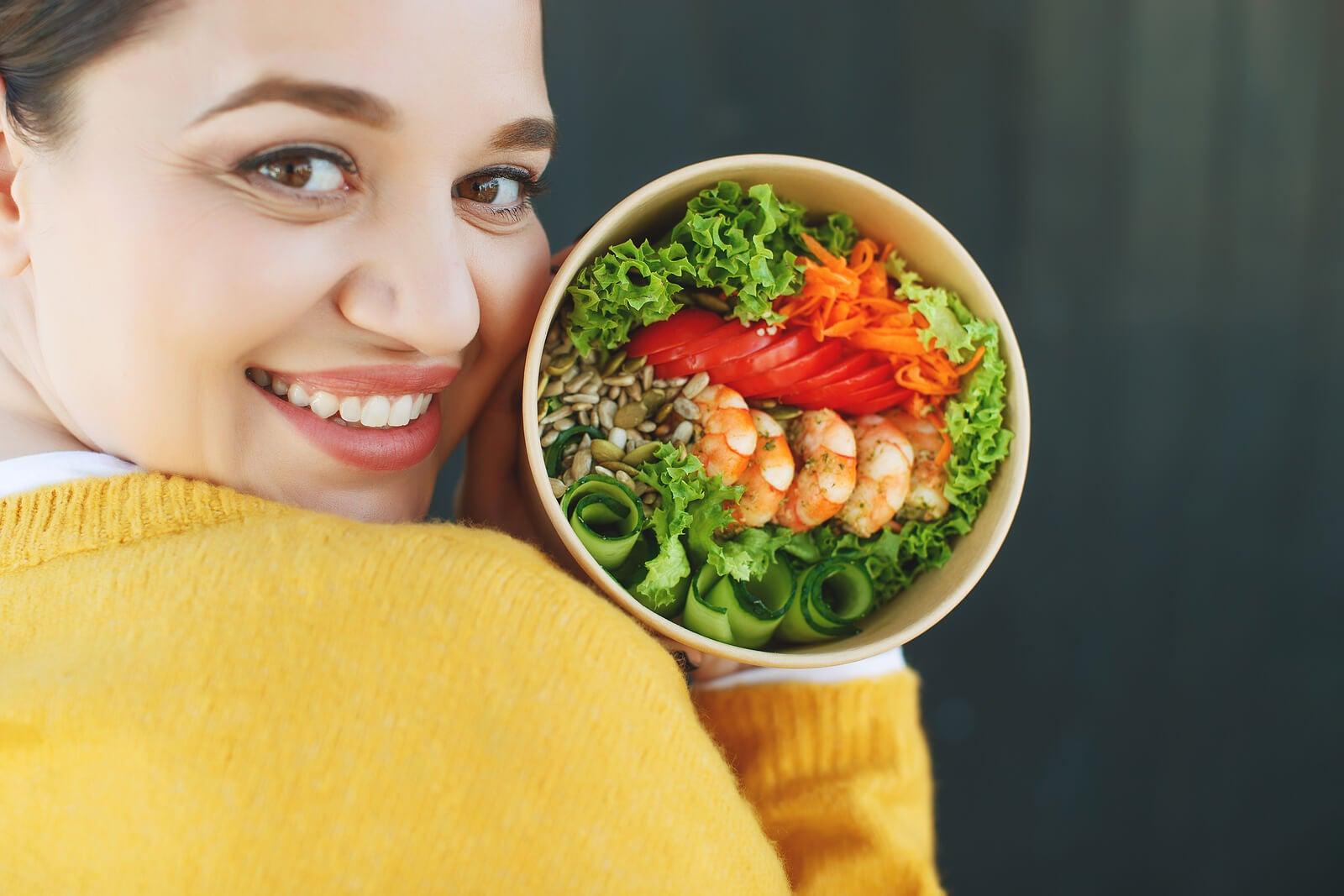 Dieta saciante para perder peso sin pasar hambre.