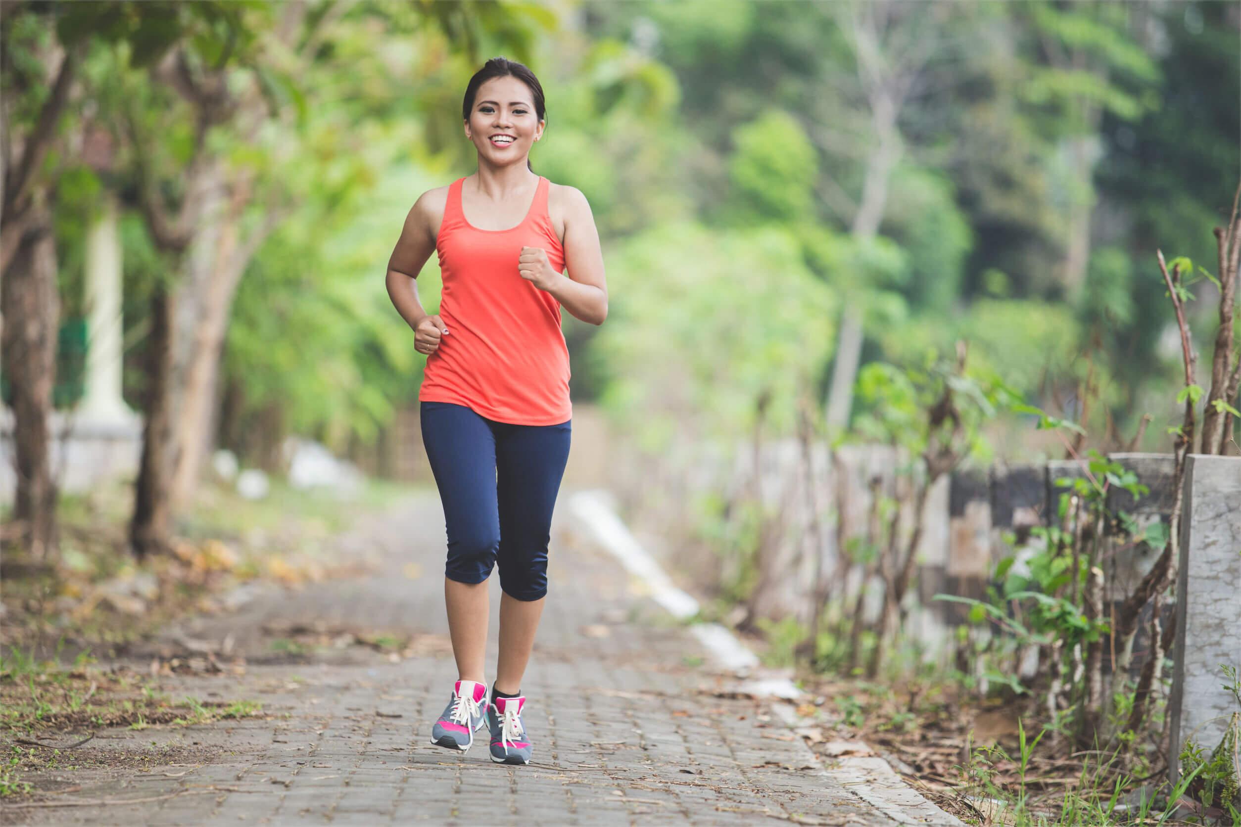 El ejercicio se puede evitar durante el periodo menstrual
