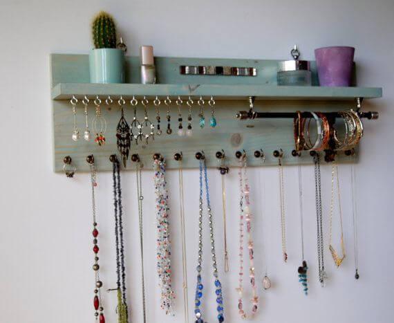 Ideas para hacer un organizador de pared para tus accesorios