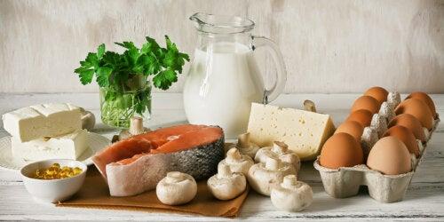 Alimentos con calcio y vitamina D para cuidar tu salud ósea
