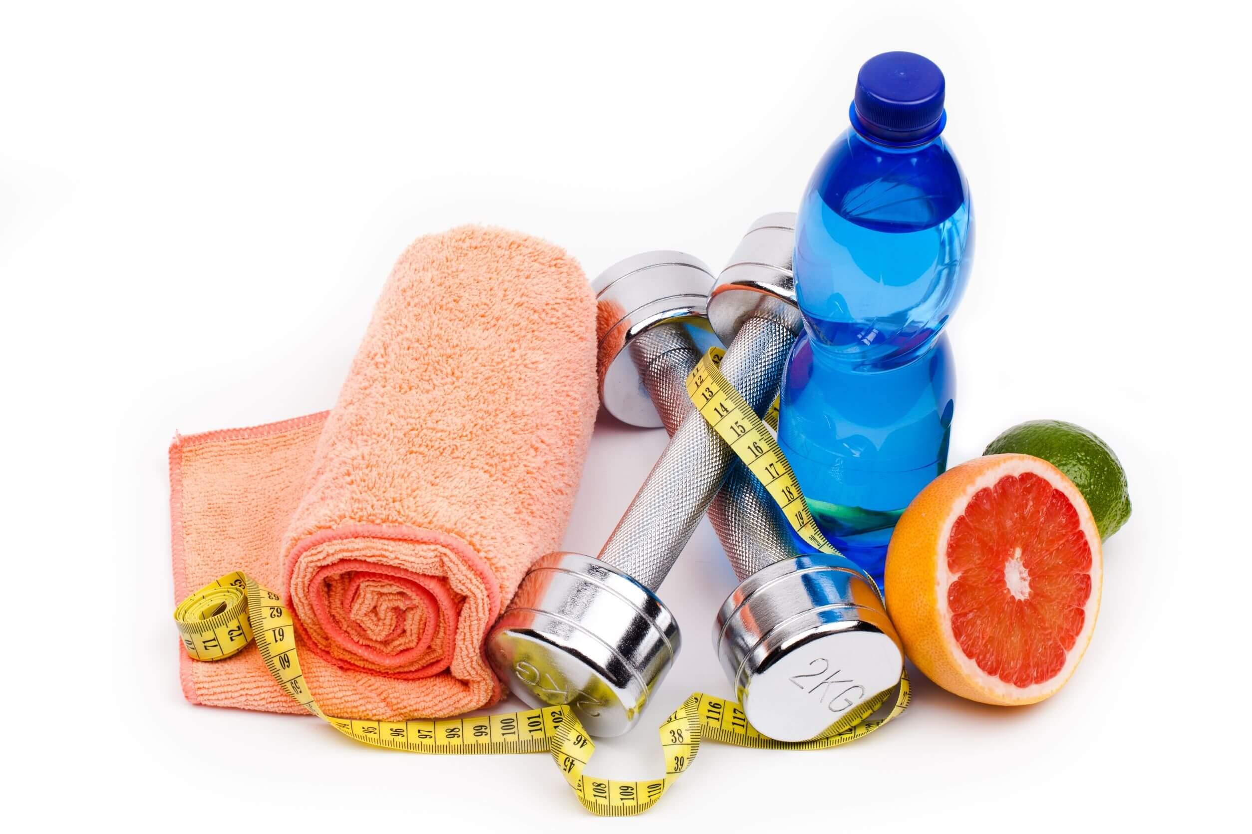 La alimentación para ir al gimnasio debe ser saludable.