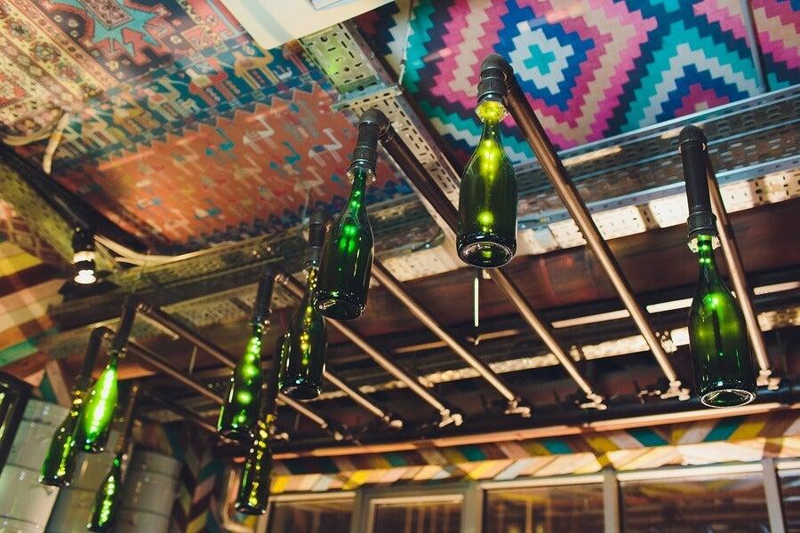 4 ideas para hacer lámparas con frascos y botellas