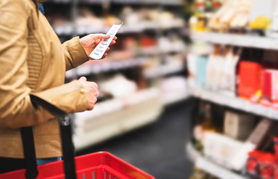 aditivos alimentarios en el supermercado