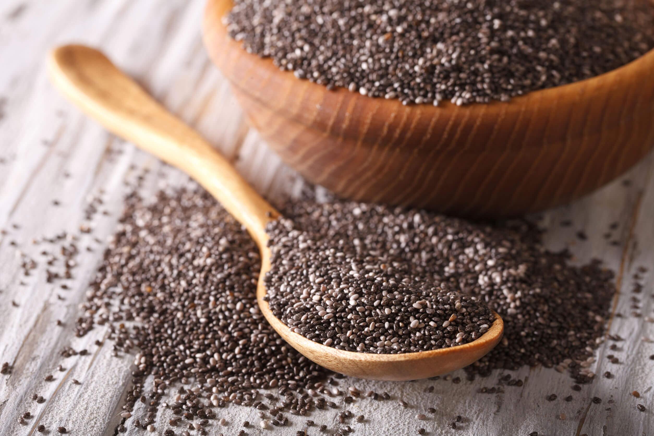 Las semillas de chía son una de las fuentes vegetales de ácidos grasos que más ha ganado popularidad en los últimos años.