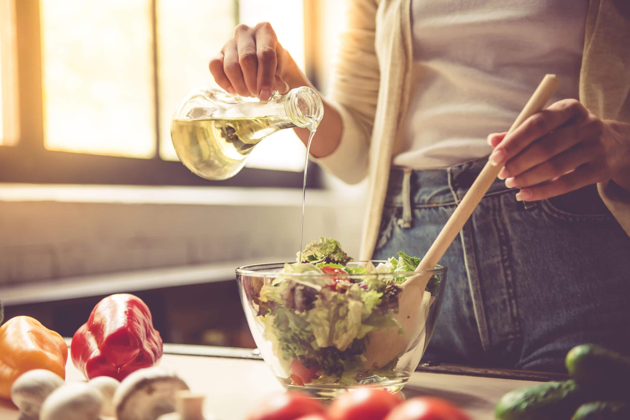 Reducir el consumo de carne con ensalada es posible.