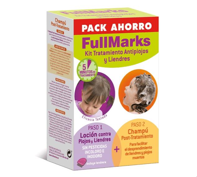 Tratamiento antipiojos FullMarks