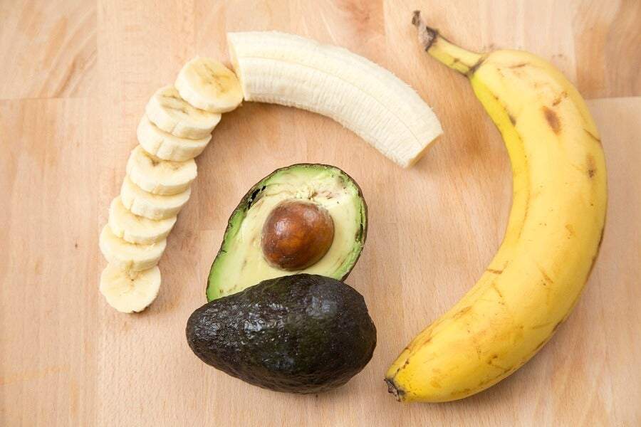 Alimentos que son fuentes de potasio