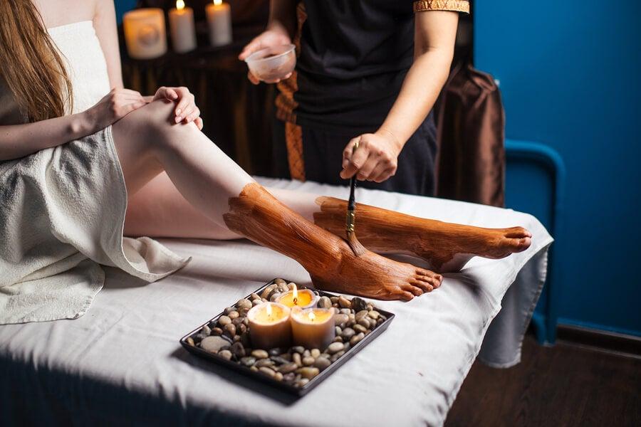Baños para suavizar los pies